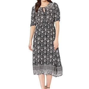 NWT LUCKY BRAND FLORAL PEASANT DRESS